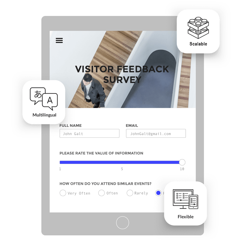 Key Survey software, questionnaire tool